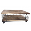 TABLE BASSE FOREST INDUSTRIELLE GEANTE