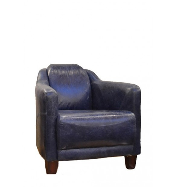FAUTEUIL CLUB CUIR 3 PIEDS