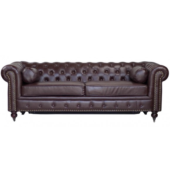 Canapé Chesterfield Luxe Marron Vintage