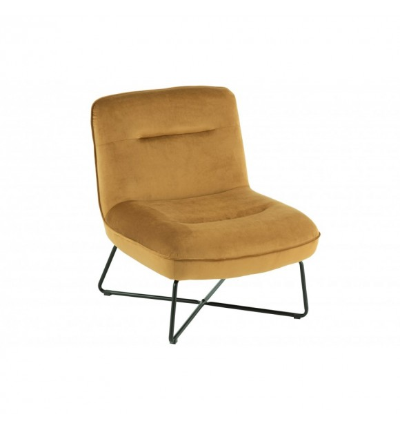 CHAISE LOUNGE OCRE