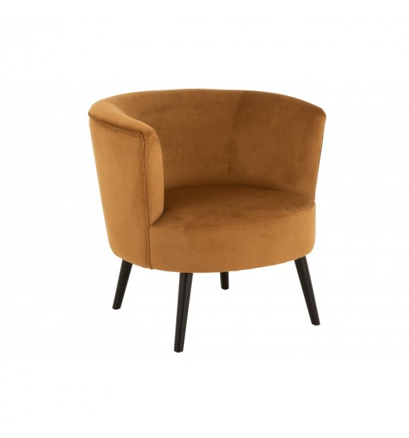CHAISE CUVE OCRE