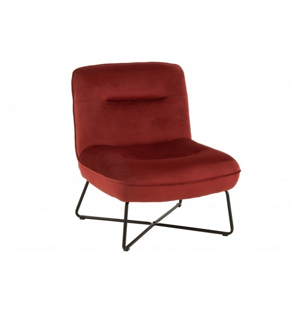 CHAISE LOUNGE ROUGE