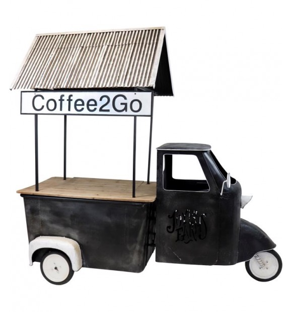 Camionette déco Coffee to go