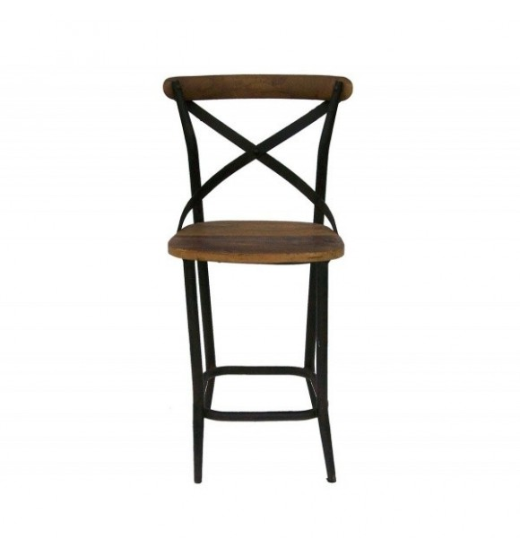 Tabouret bar industriel